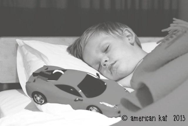 American Son sleeping ©American Kat  2013
