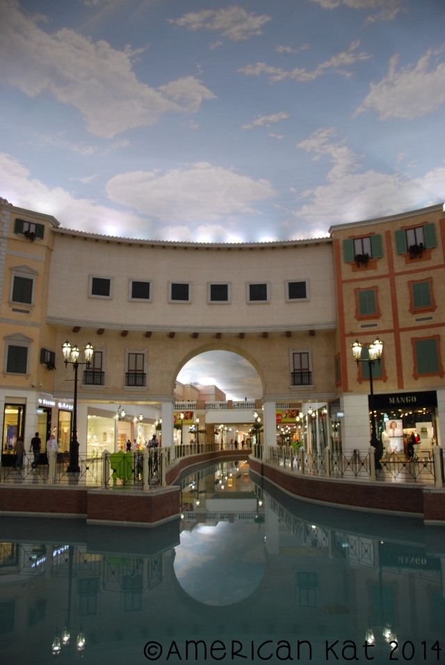 Villaggio Mall, so stinking gorgeous!