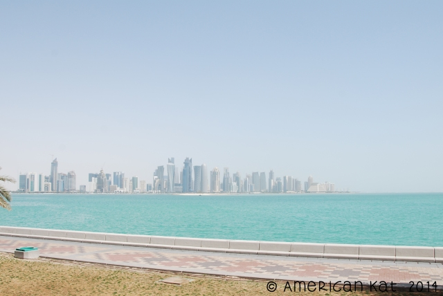 cityscape from the Corniche
