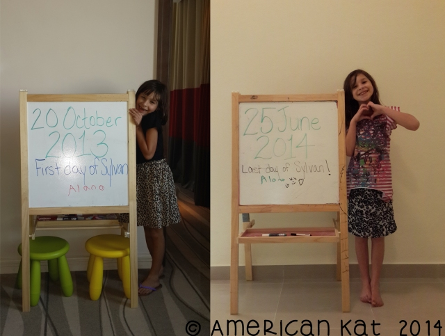 alana first and last day of school ©american kat  2014