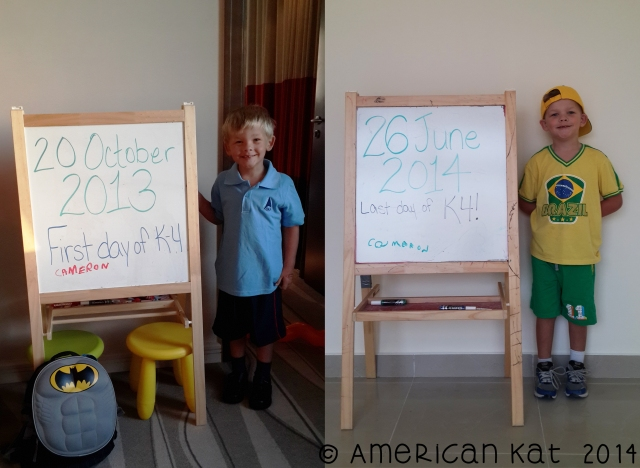 cameron first and last day of school © american kat 2014